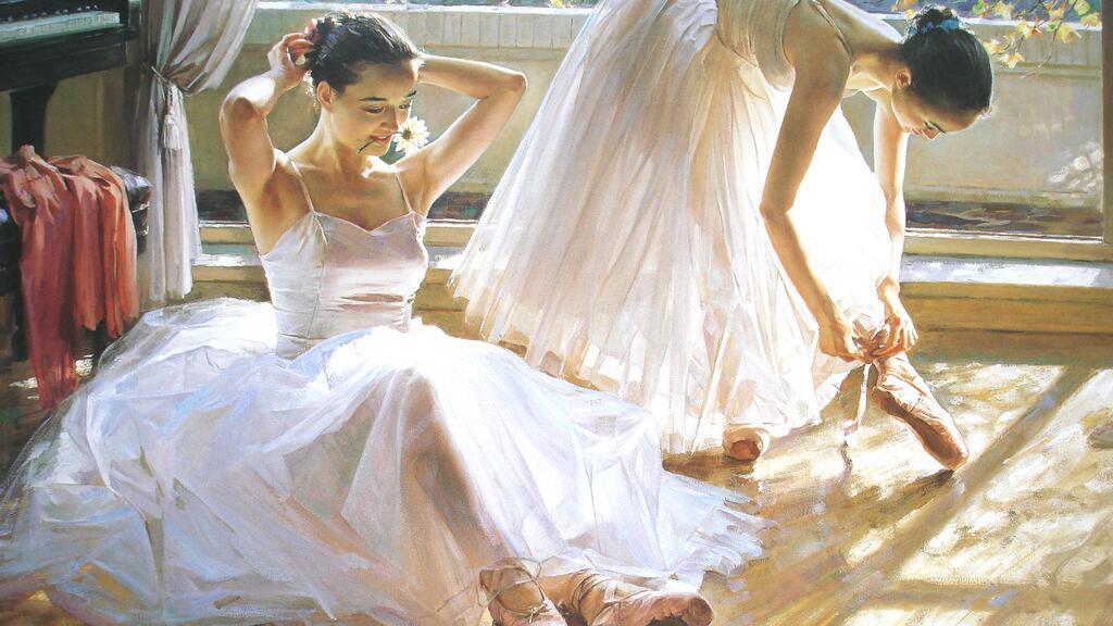 给你一首诗的时间:An eine Tänzerin 致一位舞女 - 艾兴多夫