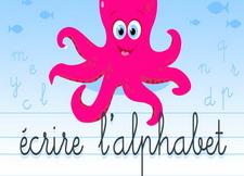 法语字母手写体视频教学