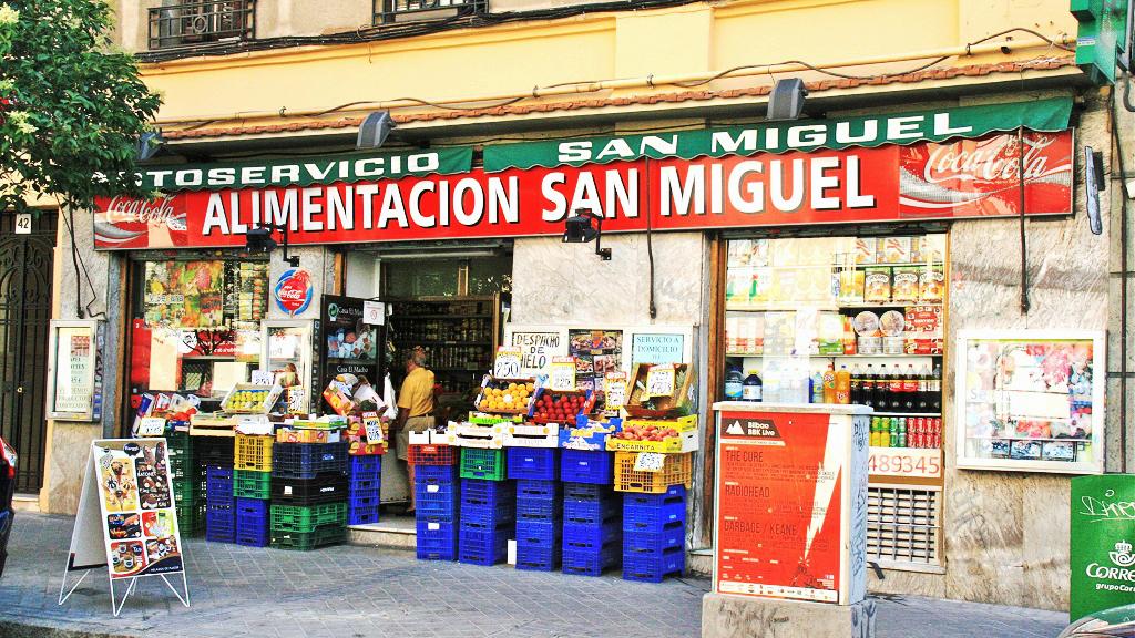 走上瓦伦西亚小镇的街头,看看怎样用西语来说这些商店的名字吧~