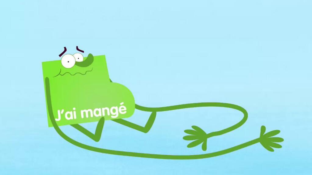 简单的小动画带你理解法语中的动词变位和时态💡