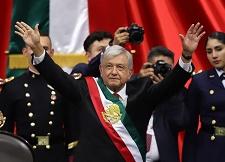墨西哥总统洛佩斯就职演讲