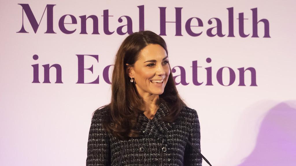凯特王妃最新演讲,一开口就被纯正英音迷倒了❤