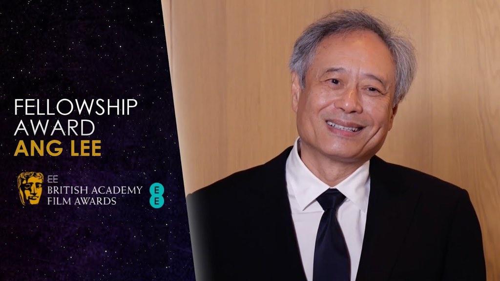 李安获英国电影学院终身成就奖:拍电影让我和世界连接 📽