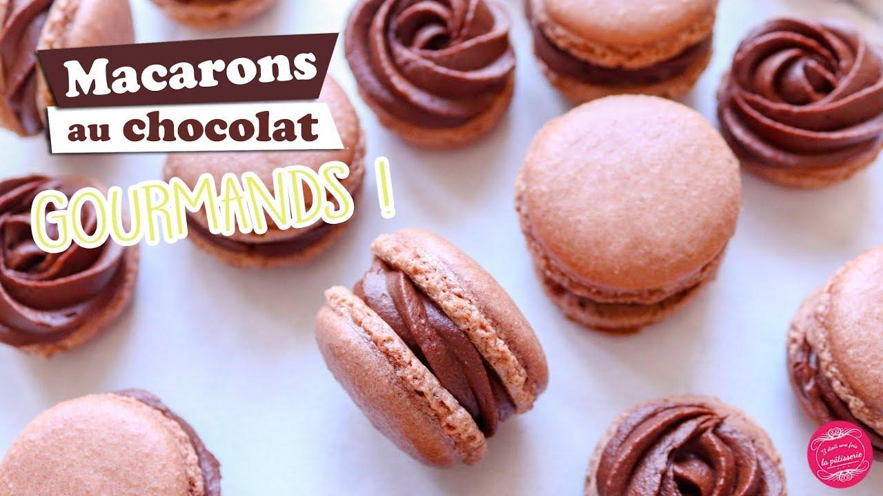 手把手教你做法国甜品马卡龙 🍫巧克力味的哟~